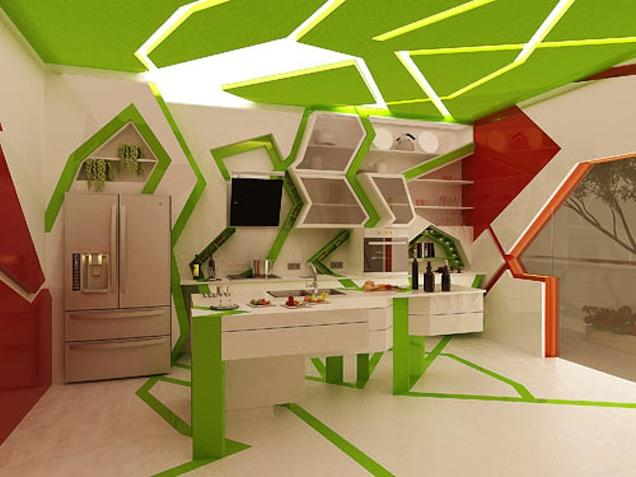 Cubist Kitchen