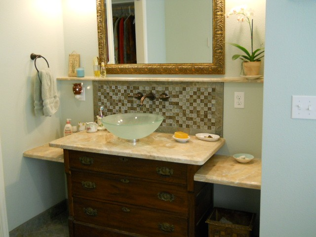 Furniture Look Bathroom Design