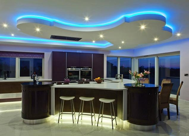 Mood Lighting Kitchen