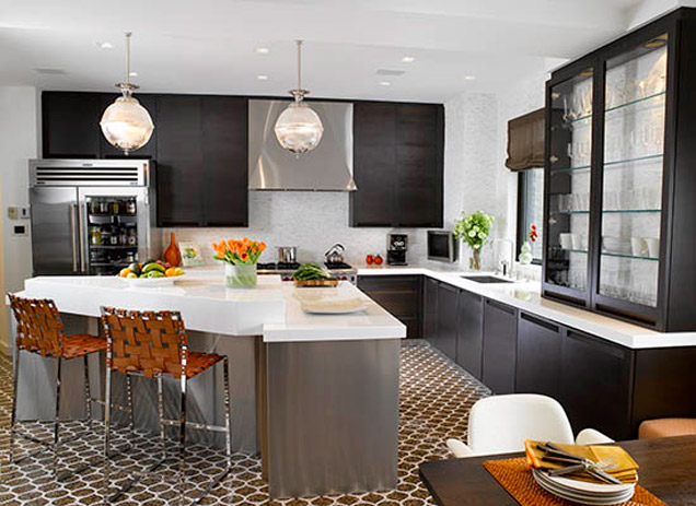 Transitional Kitchen Design: Blending Materials