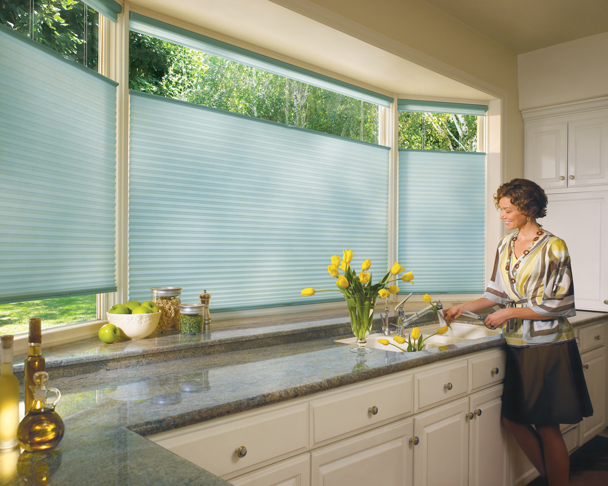 Kitchen Shades The Advantages Of Using Cellular Shades In Your Kitchen