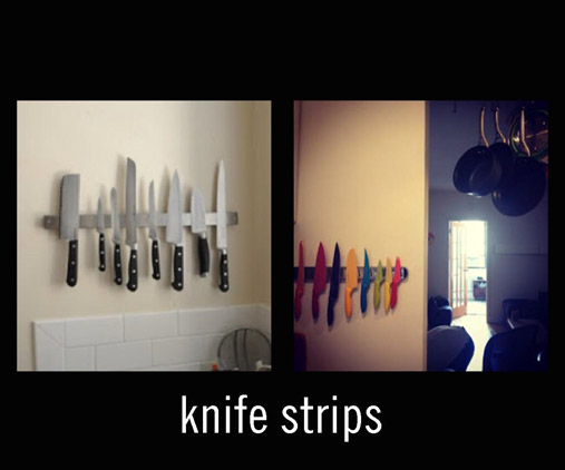 Magnetic Knife Strips