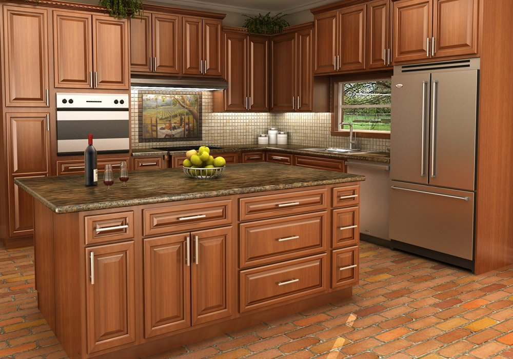 white vs stained kitchen cabinets buy spice maple rta ready to assemble kitchen cabinets 29172
